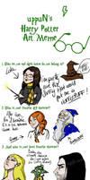 HP: Harry Potter Art Meme by Loleia