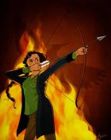 Hunger Games: Katniss Everdeen by Loleia