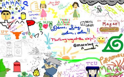 Desktop Graffiti by xmaygnx