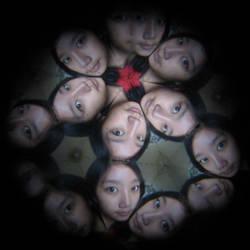 Kaleidoscope Lens: Myself by xmaygnx