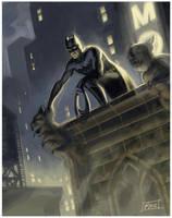 Batman by matpao