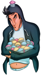 I heart cupcakes by aceswordsman