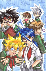 Kai has new classmates by songosai