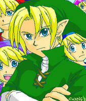 Link and more Links - MSPaint by songosai