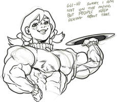 Sketch: Ready to order? by RedSilverArtist