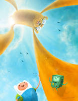 Adventure Time by rismo