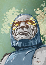 Darkseid colored by rismo