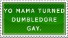 Harry Potter Stamp - Yo Mama by kittykat01