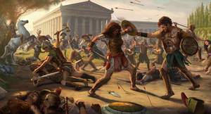 Amazon Battle by Villain68