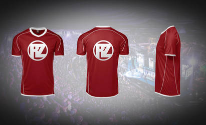 Real Zone Gaming logo on a Soccer/Football T-shirt by NicolaiFox