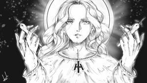 Holy Teresa by craft-of-sudoshizuka