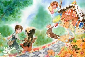 Hansel and Gretel by Giga-v