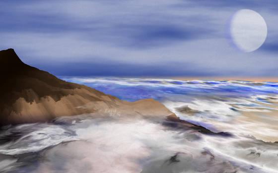Pinceladas del Mar - Brushstrokes from the Sea by LaraBLN