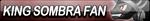 King Sombra Fan Button by EclipsaButterfly