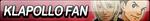 Klapollo Fan Button by EclipsaButterfly