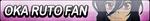 Oka Ruto Fan Button by EclipsaButterfly