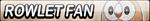 Rowlet Fan Button by EclipsaButterfly