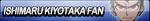 Ishimaru Kiyotaka Fan Button by EclipsaButterfly