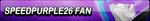 Speedpurple26 Fan Button by EclipsaButterfly