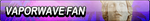 Vaporwave Fan Button by EclipsaButterfly