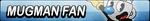 Mugman Fan Button by EclipsaButterfly