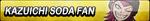 Kazuichi Soda Fan Button by EclipsaButterfly