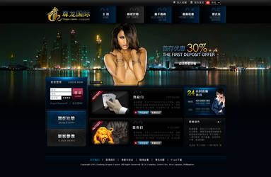 Zunlong Dragon Casino by rp-designs