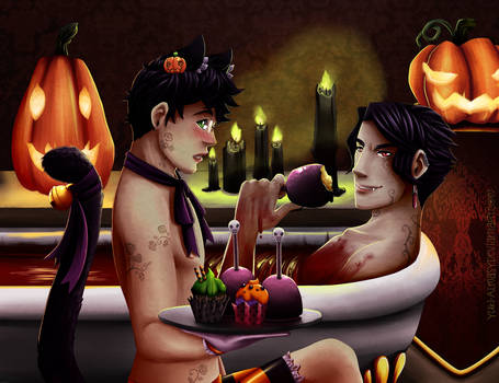 Happy Halloween 2013 by Yuki-Almasy