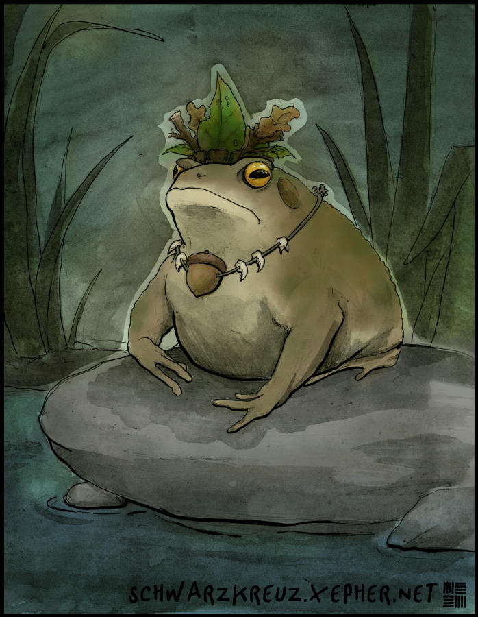 Toad King by doppelgangergeisha