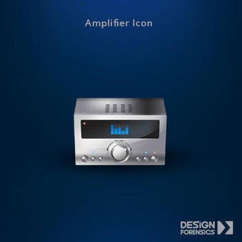 Amplifier Icon by DESIGN-FORENSICS
