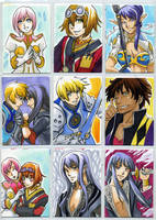 Tales of Vesperia Cards by glance-reviver