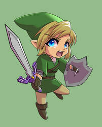 Link Chibi by glance-reviver