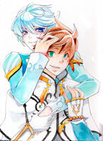 Sorey and Mikleo by glance-reviver