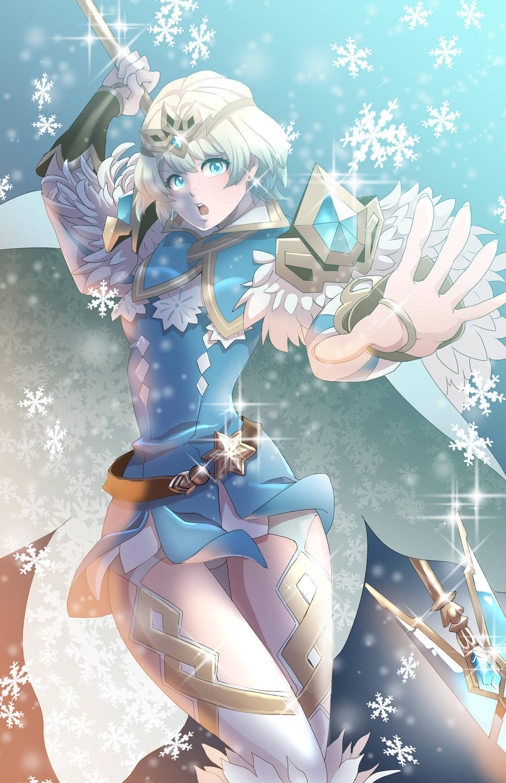 Fjorm Princess of Ice by glance-reviver