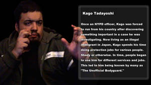 Kago Tadayoshi - The Unofficial Bodyguard by Keeneye47