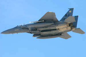 Strike Eagle Overfly by Atmosphotography