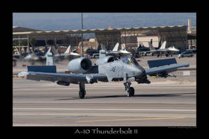 A-10 Thunderbolt II by Atmosphotography