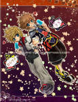 KH2 : Sora+Roxas by Yume-Rie