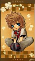 KH2 : Chibi Roxas by Yume-Rie