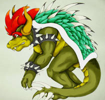 Giga Bowser by PrismBaby