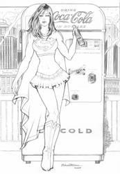 Supergirl Commission by AdrianaTavares