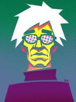 Andy Warhol by nevardaed