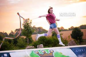 Fun at sunrise by LauraPearl