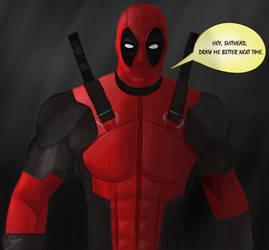 Deadpool by Daniel9000Igreja