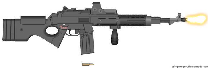 Standard Assault Rifle by jrom95