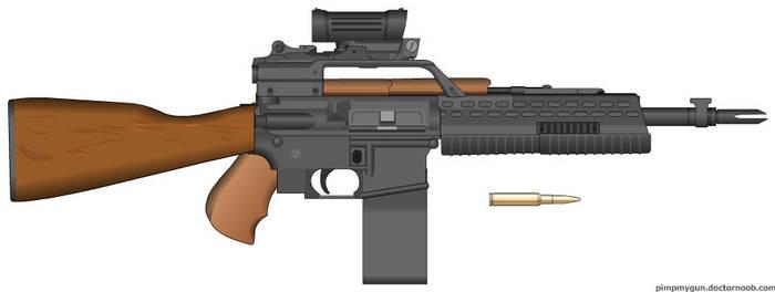 Semi-Automatic Rifle by jrom95