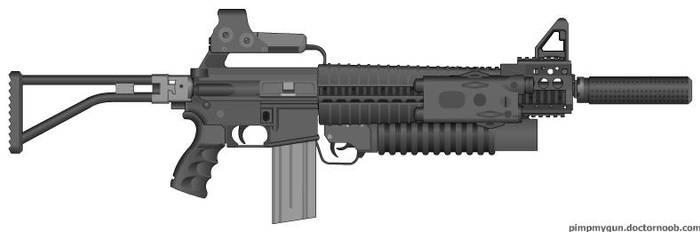 Commando Rifle by jrom95