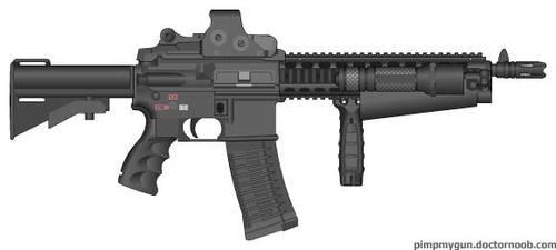 Sub-machine Gun by jrom95