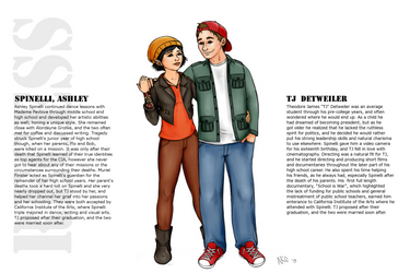 TJ Detweiler and Ashley Spinelli by Just-AO