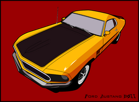 Ford Mustang BOSS by under18carbon